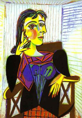 ピカソ作『ドラ・マールの肖像』